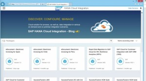 SAP HANA Cloud integration overview