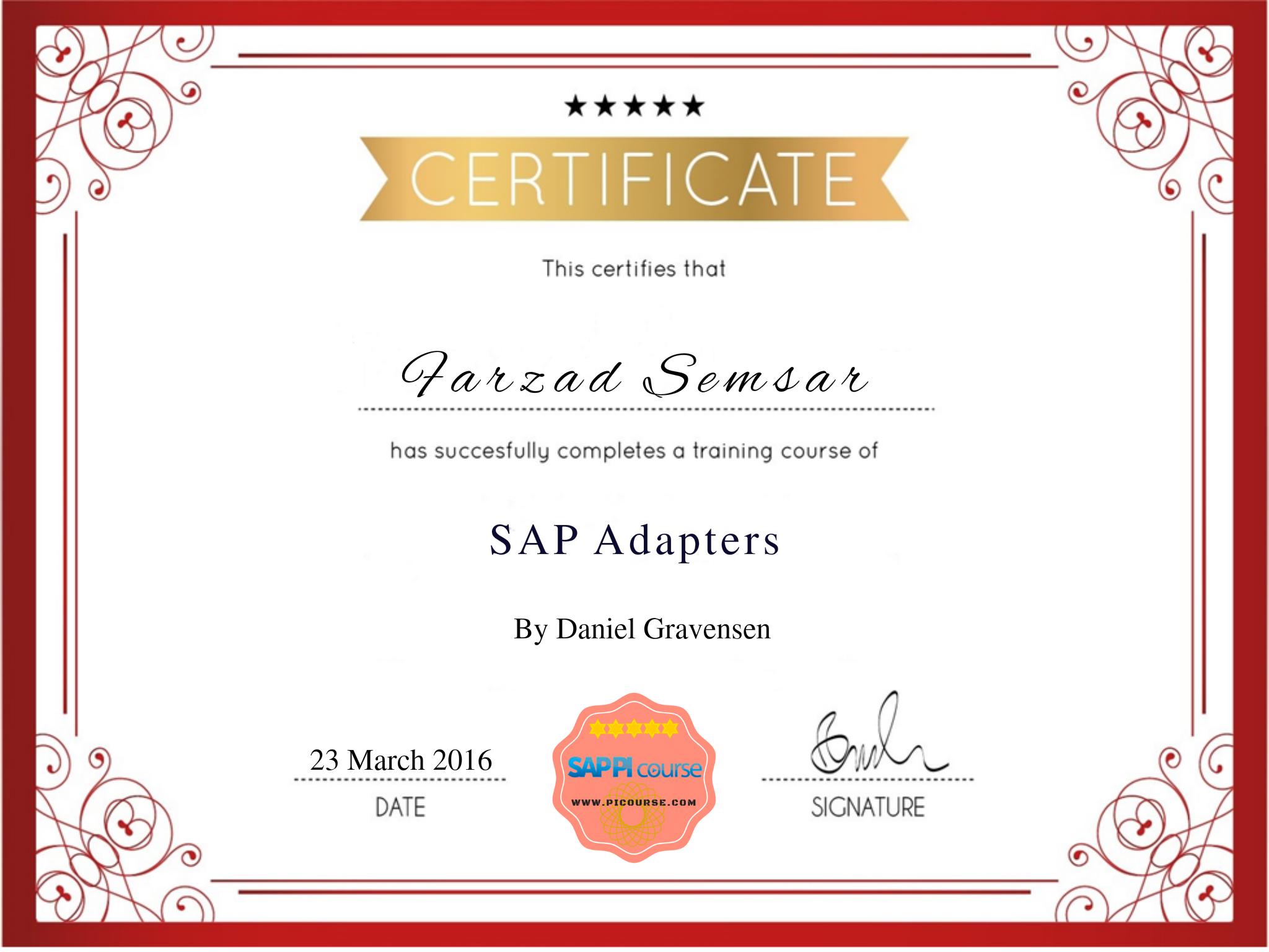 SAP PI/PO SAP Adapters IDOC, RFC and Proxy