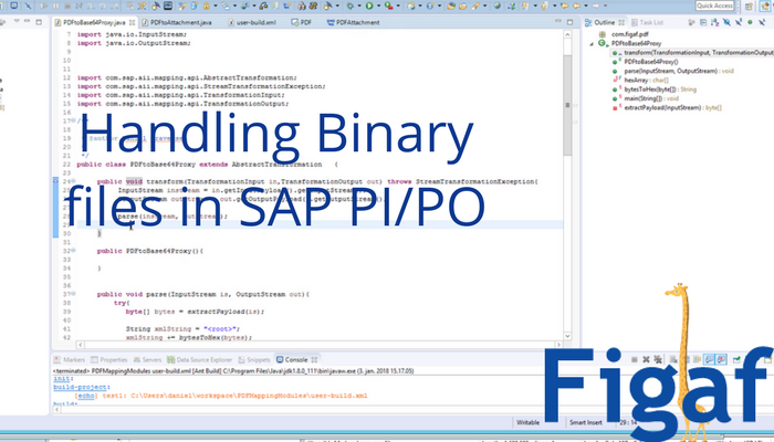 How to create a Java mapping in SAP PI/PO that handle binary